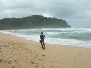 Hella turgid beach in the Caribbean