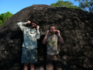 Taking the respectful route at some petroglyphs