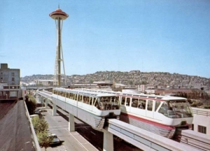 Seattle mass transit. All one-quarter of a mile of it...