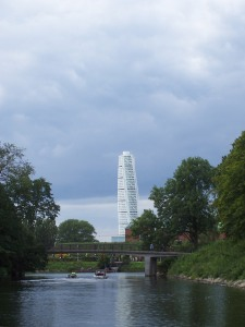 The Turning Torso, it's called