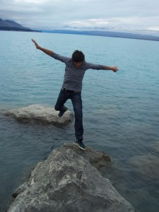 Don't fall in the Pukaki!