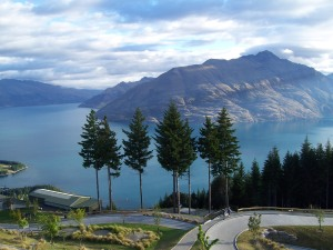 Mountains, trees and the world's most unnecessary luge course