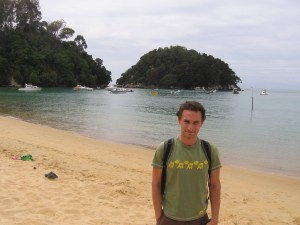 I've been in a place called Abel Tasman National Park for the last four days