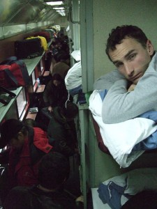 And were not in the mood for the hard sleeper back to Beijing