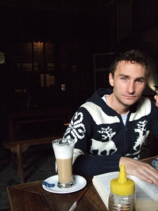 And read and latte'd in the mornings til Soeren woke up