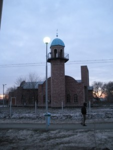 A mosque. I feel like the pictures are getting worse as they go along.