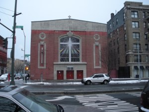 Harlem is 90 percent churches