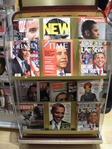 They rather liked Obama that week. And I think they invented Black Woman Magazine just for Michelle.