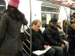 Sketching sketchy folks underground