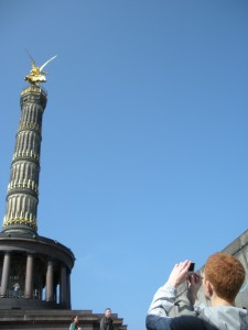 80 percent of being a tourist is just documenting various Euro-phalluses
