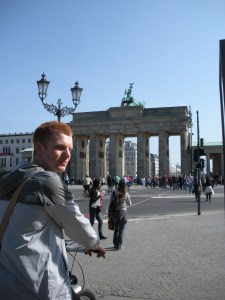Luke, Berlin first-timer
