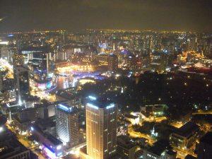 We went 70 floors up to gaze upon the consumadise