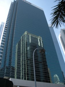 Buildings are shinier, and warmer on the inside