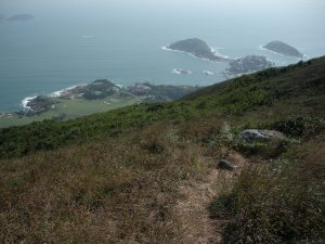That's how I found this trail called 'The Dragon's Back', on the south tip of Hong Kong island