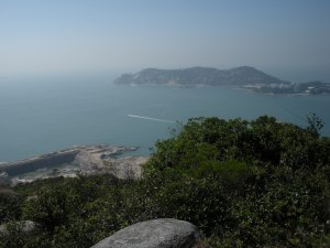 Where I talked to a Hong Kong lady about running errands by boat