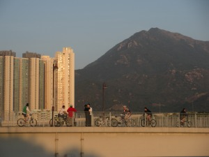 This was the second time in Hong Kong that aimless wandering took me the top of a mountain