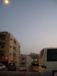 Sunrise in Dubai