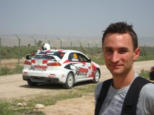 We accidentally attended the Jordan Rally Championship.