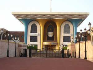 My Jordanian friend says this sultan is gay. I wasn't convinced till I saw the turquoise pillars.