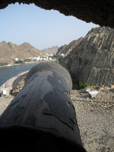 The fort's-eye view.