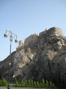 Muscat is lousy with forts. Thanks, Portugese.