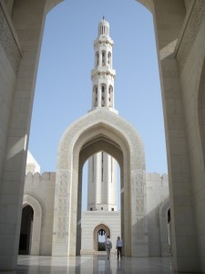 Everything in Oman, no matter how ornate, can't help but remind you of a mall.